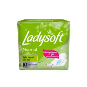 Toalla Ladysoft Normal Con Alasx10