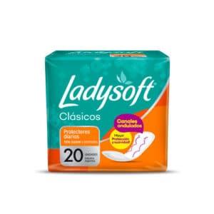 Protectores Diarios Ladysoft Classic Nor x 20