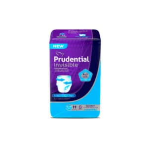 Pañal Prudential Invisible S-M x 8