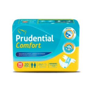 Pañal Prudential Comfort M x 20