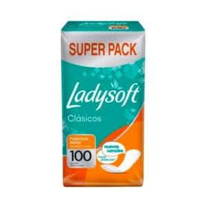 Protectores Diarios Ladysoft Classic x 100