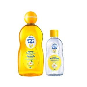 Shampoo Pmb Manzanilla 400ml + Aceite Pmb Manzanilla 100ml