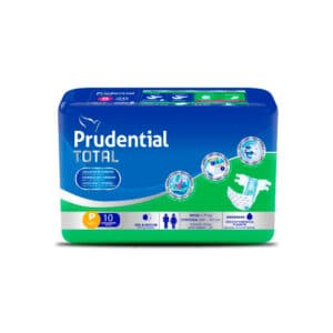 Pañal Prudential Total P x 10
