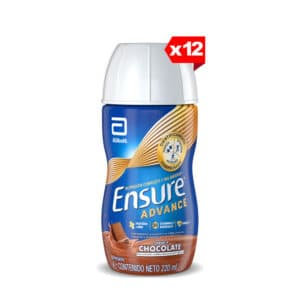 Ensure Advance Chocolate Líquida x 200ml (Paga 9 y Lleva 12)