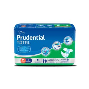 Pañal Prudential Total M x 8