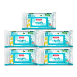 Pañitos Húmedos Nappis x 250 Fisher Price (p)