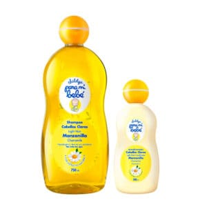 Shampoo Pmb Manzanilla 750ml + Acondicionador Pmb Cabellos Claros Manzanilla 200ml
