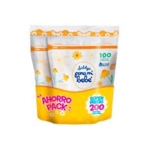 Pañitos Húmedos Pmb Manzanilla Duo-packx200