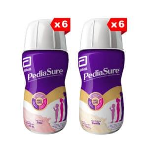 Pediasure Plus Fresa y Vainilla Líquida x 200ml (Paga 9 y Lleva 12)