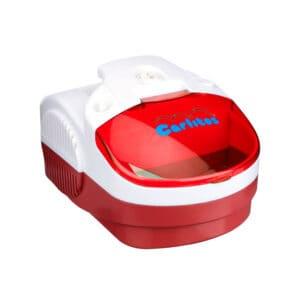 Nebulizador Carlitos Familiar Compresor Portable Rojo
