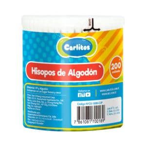 Cotonetes Carlitos Madera 3p x 200