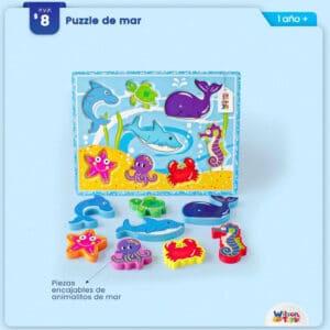 Puzzle de Mar Wilson Toys