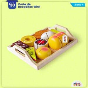 Corte de Bocaditos Wiwi Wilson Toys