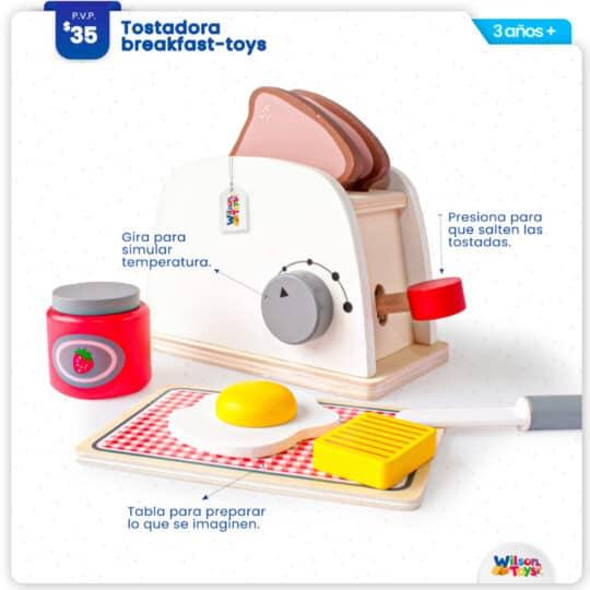 Tostadora de Madera Wilson Toys