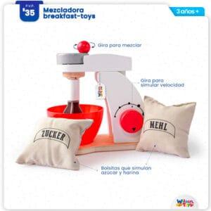 Mezcladora de Madera Wilson Toys