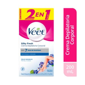 Veet® Crema Depilatoria Piel Sensible- 2 x 100ml