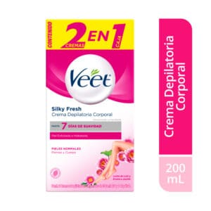 Veet® Crema Depilatoria Piel Normal- 2 x 100ml