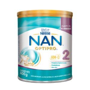 NAN® PRO HMO Fórmula Infantil Etapa 2 Lata x 400g