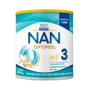 NAN® PRO HMO Leche de Crecimiento Etapa 3 Lata x 800g
