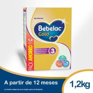 Leche Bebelac Gold 3 1200g