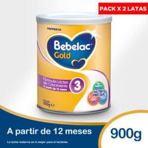 Leche Bebelac Gold 3 900gr (pack x 2)