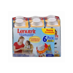 Yogurt Lenutrit Fort-Vainilla x 200gr Pack x 6
