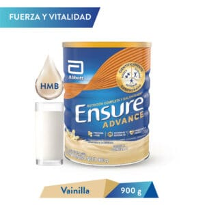 Ensure Advance Vainilla 900g