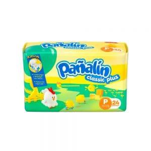 Pañal Pañalín Classic Plus P x 24