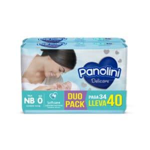 Pañal Panolini Delicare Recién Nacido x 40 (PAGA 34 LLEVA 40)