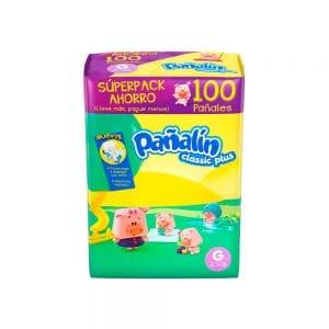 Pañal Pañalín Classic Plus G x 100