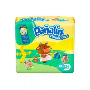 Pañal Pañalín Classic Plus XG x 24