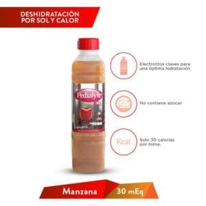 Pedialyte NL Manzana 30 MEQ MAX 500ml