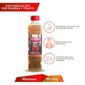 Pedialyte NL Manzana 60 MEQ MAX 500ml