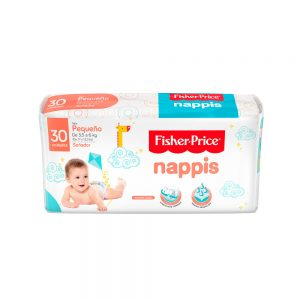 Pañal Nappis Fisher Price P x 30