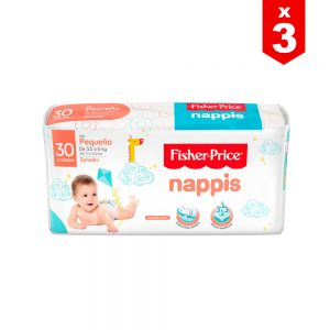Pañal Nappis Fisher Price P x 90