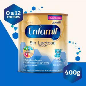 Enfamil ® Premium sin lactosa - Fórmula especializada -Lata de 400g