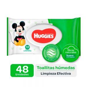 Pañitos Húmedos Huggies Active Fresh x 48
