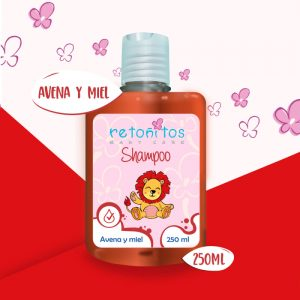 Shampoo Retoñitos Avena y Miel x 250ml