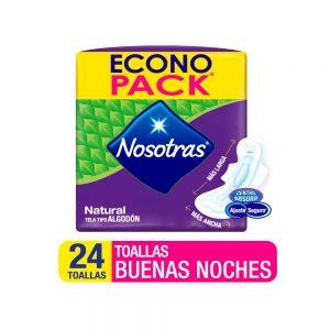 Toalla Nosotras Buenas Noches x 24