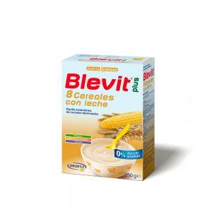 Leche Blevit Plus 8 Cereales con Leche x 250g