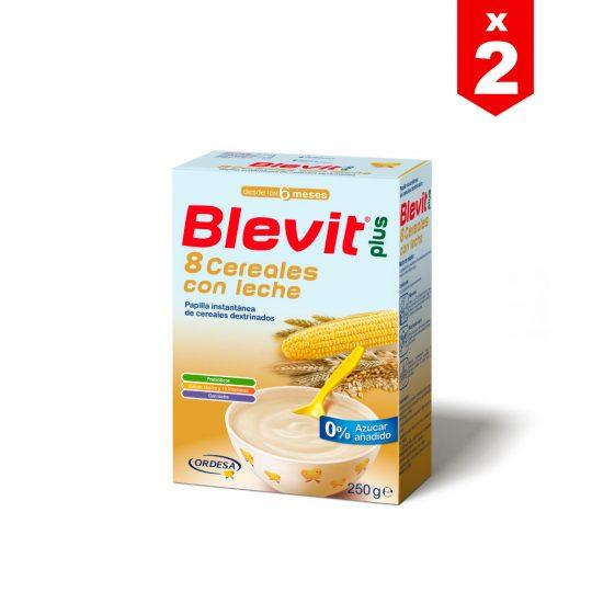 Leche Blevit Plus 8 Cereales con Leche x 250g (PAGA 1 LLEVA 2)