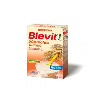 Blevit Plus 5 Cereales Quinua x 250g