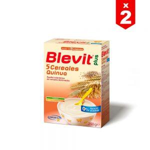 Blevit Plus 5 Cereales Quinua x 250g (PAGA 1 LLEVA 2)