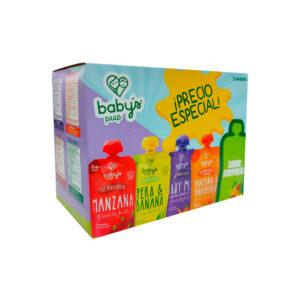 Puré de Fruta Babys Surtido x 5 (PAG4LLV5)