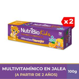 Nutribio Kids Jalea tubo de 100g x 2 (PAGA 1 LLEVA 2)