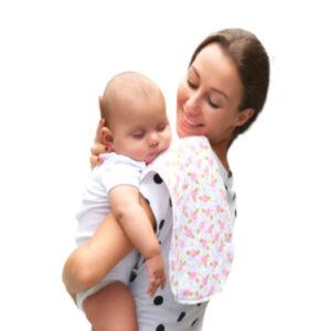Paños de eructo para bebé Creciendo juntos