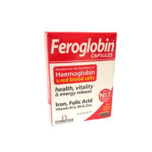 Feroglobin B12 Cápsulas x 12mg/400ug x 30
