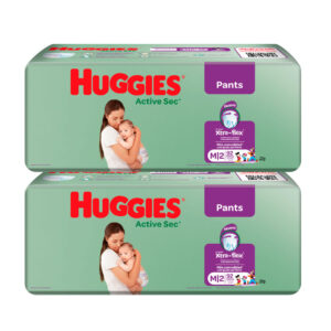 Pañal Huggies Active Sec Ajuste Perfecto M x 184 Promo