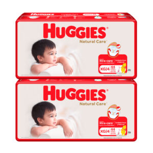 Pañal Huggies Natural Care Unisex XG x 88 Promo