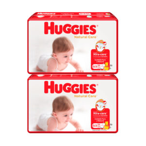 Pañal Huggies Natural Care Unisex G x 108 Promo